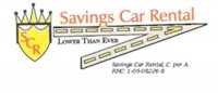 Savings Car Rental