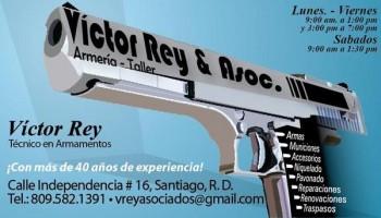 Armería Victor Rey Asoc Armerías Negocios Dominicanos