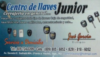 Centro De Llaves Junior