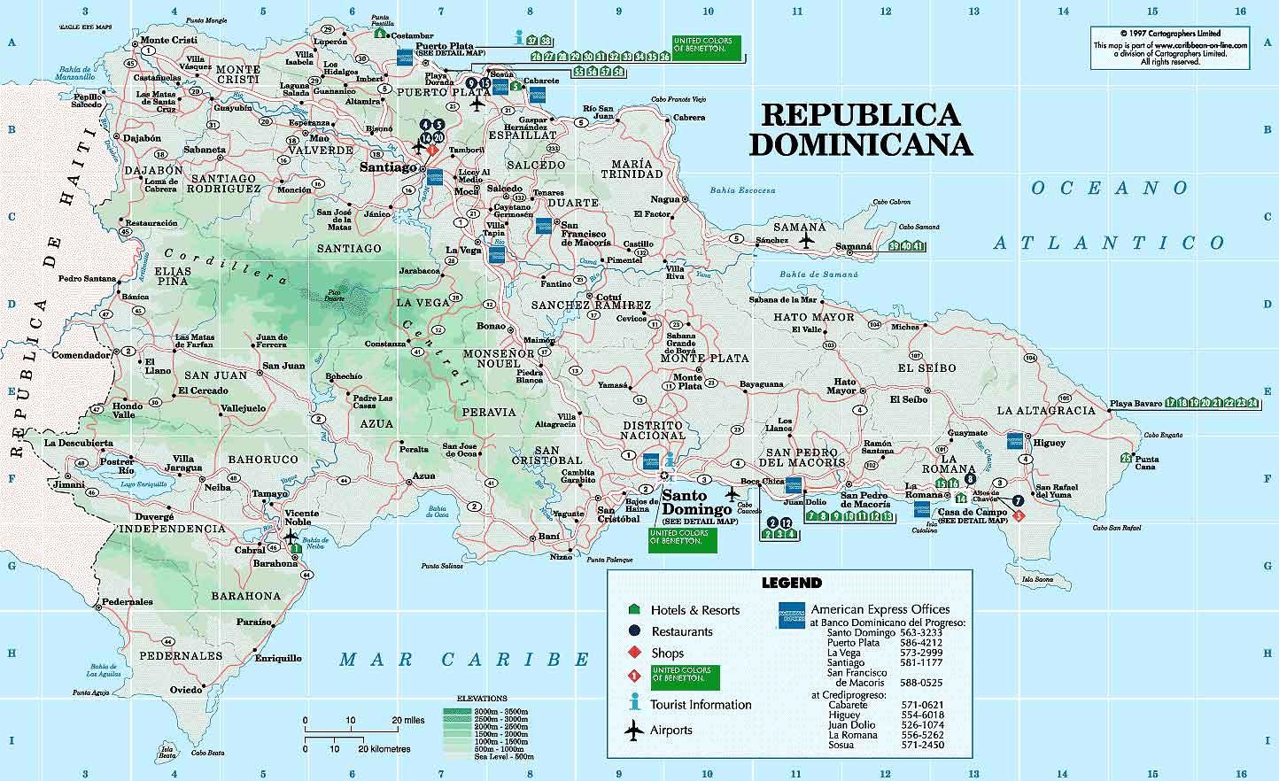 Datos Geogrficos Datos Geogrficos  Negocios Dominicanos